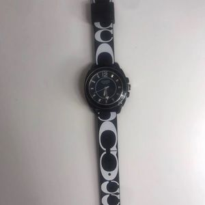 Coach Silicone Watch